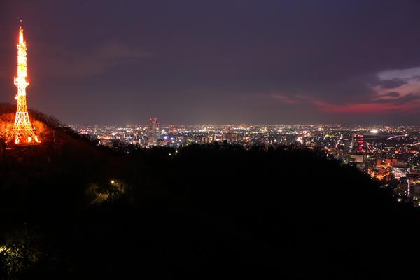 金華山第二展望台の夜景スポット情報