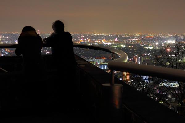 金華山展望公園の夜景スポット情報