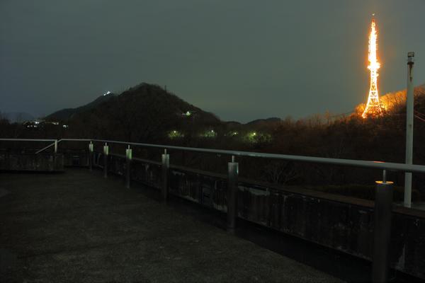 金華山展望公園の雰囲気