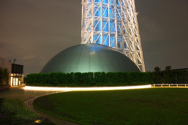 東京スカイツリータウン ドームガーデンの夜景スポット情報