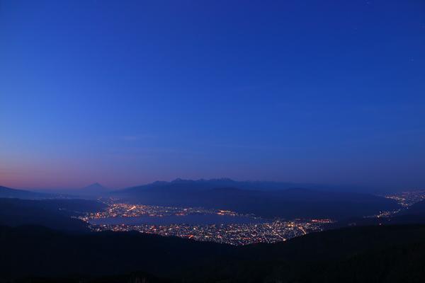 高ボッチ高原 山頂