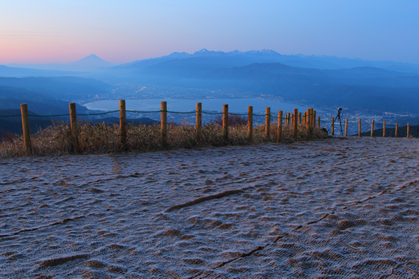 高ボッチ高原 山頂の雰囲気