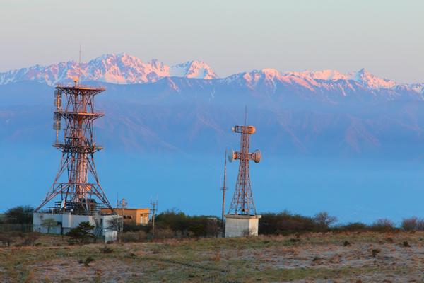 高ボッチ高原 山頂 アルプス連邦