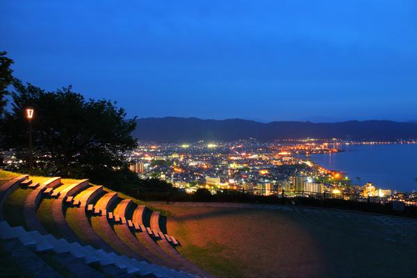 立石公園の夜景スポット情報