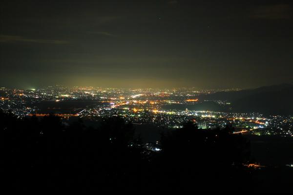 千曲川展望公園の夜景スポット情報