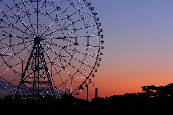 葛西臨海公園(東京水辺ライン)の夜景スポット情報