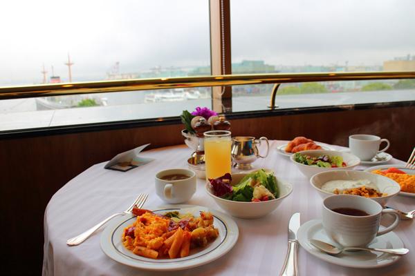 ホテル ニューグランド 朝食ビュッフェ