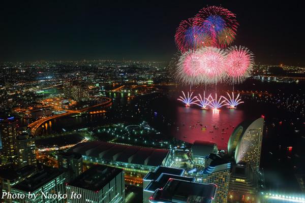 『BIGLOBE』の花火特集にて神奈川新聞花火大会の写真が掲載されました!