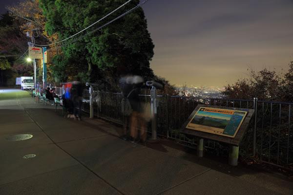 高尾山かすみ台展望台の雰囲気