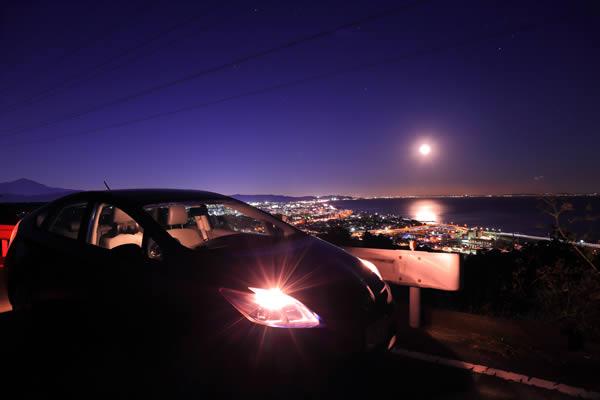 一夜城の雰囲気