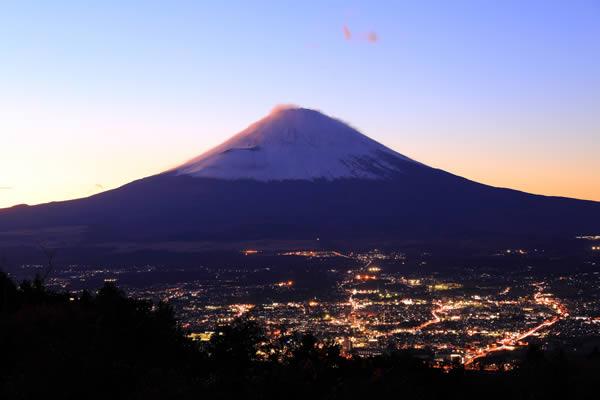 乙女峠の夜景スポット情報