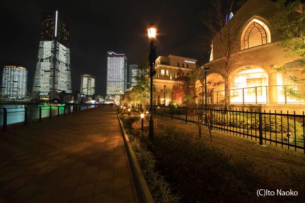 アニヴェルセル みなとみらい横浜の夜景スポット情報