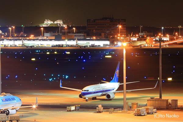 羽田空港国際線ターミナル ゲートブリッジ