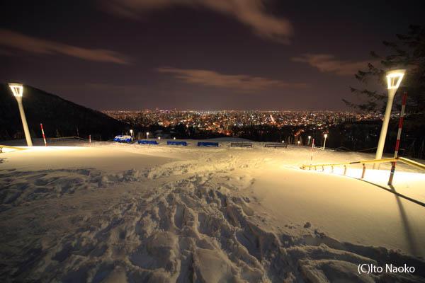 旭山記念公園の夜景スポット情報
