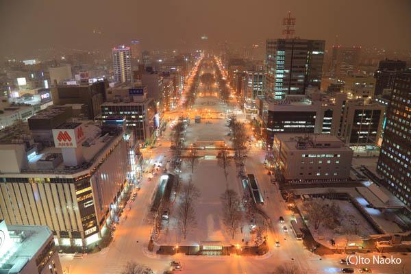 札幌テレビ塔の夜景スポット情報