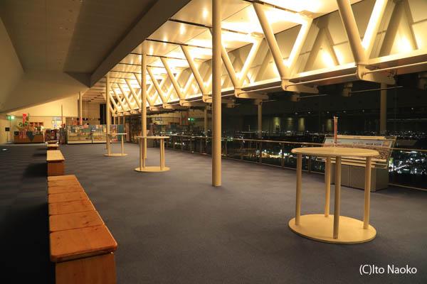 茨城県庁 展望ロビー