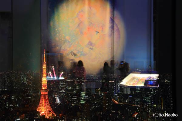 六本木ヒルズ展望台『美少女戦士セーラームーン展』開催中!