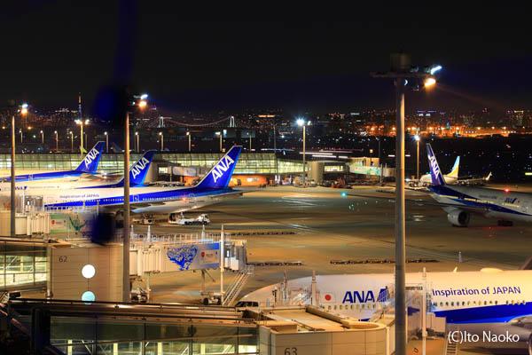 羽田空港 第2旅客ターミナル 展望デッキ