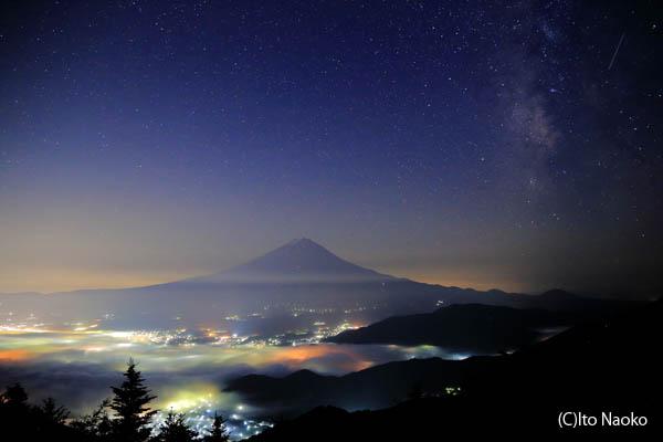 新道峠の夜景スポット情報