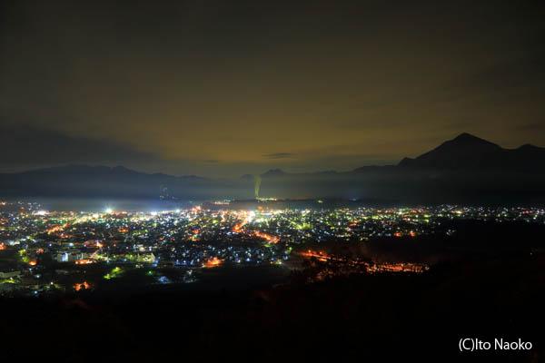 秩父ミューズパーク展望台の夜景スポット情報